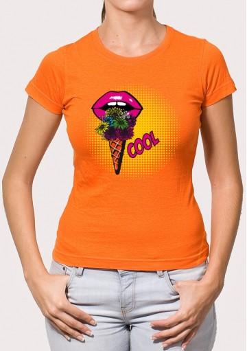 Camiseta Cucurucho Flores