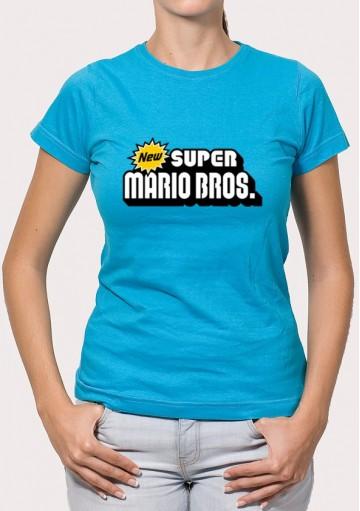 Camiseta New Super Mario