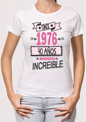 Camiseta Since Personalizada