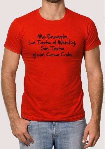 Camiseta tarta al whisky