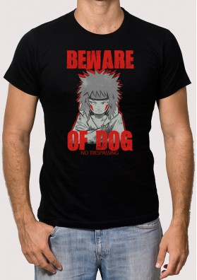Camiseta Beware of dog