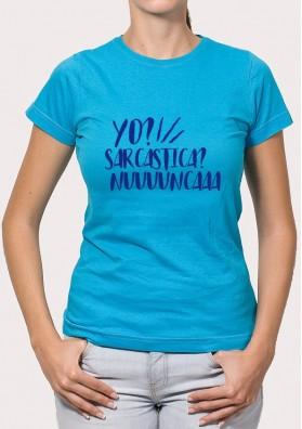 Camiseta Sarcastica
