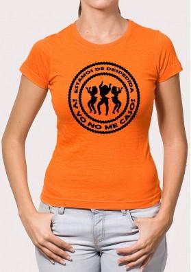 Camiseta despedida Mujer