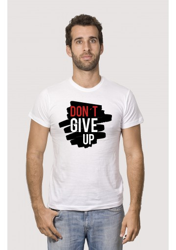 Camiseta Don´t Give Up