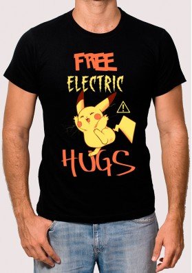 Camiseta Free Electric Hugs