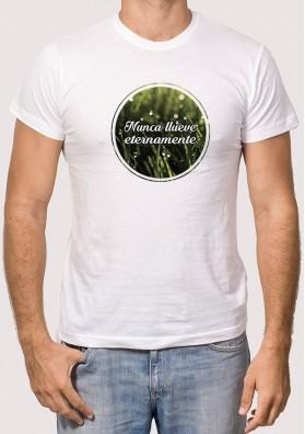 Camiseta Nunca llueve eternamente