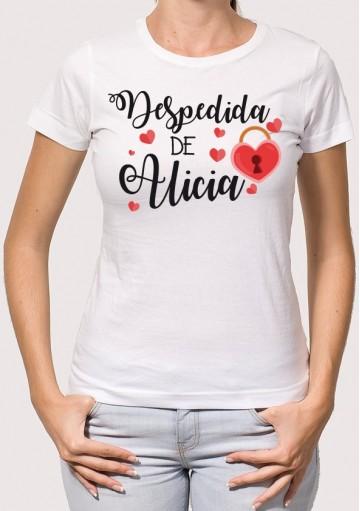 Camiseta Despedida Corazón