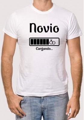 Camiseta Novio Cargando