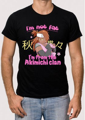 Camiseta I m not fat