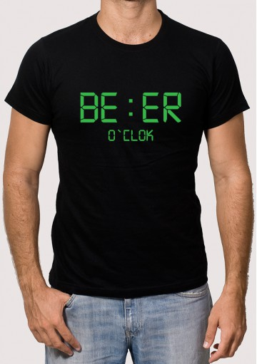 Camiseta beer oclock