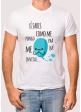"camiseta para hombre \"" Pa que me invitas\"""