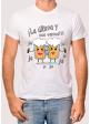 """Camiseta para hombre \"""" La última y ... nos vamos\"""""""