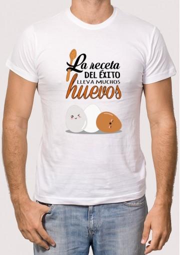 Camiseta La receta del éxito