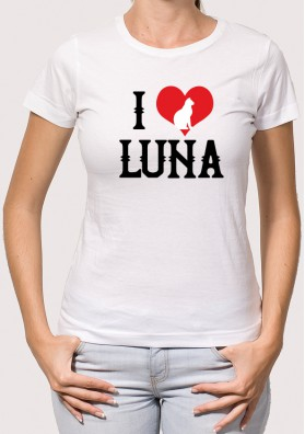 Camiseta I love Gato