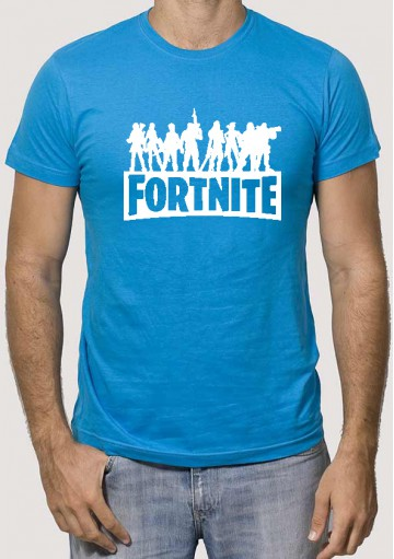 Camiseta Fortnite Silueta