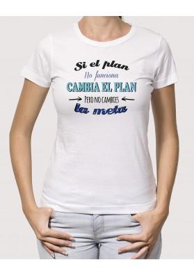 Camiseta Si el plan no funciona