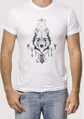 Camiseta lobo atrapasueños