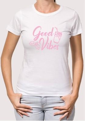 Camiseta good vibes