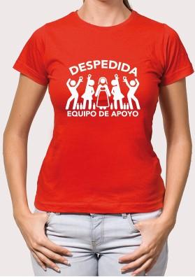 Camiseta Equipo Mujer Apoyo