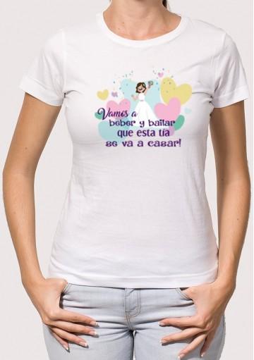 Camiseta Despedida Beber y Bailar