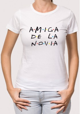 Camiseta Amiga Novia Friends