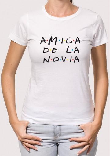 Camiseta Amiga Novia Friends