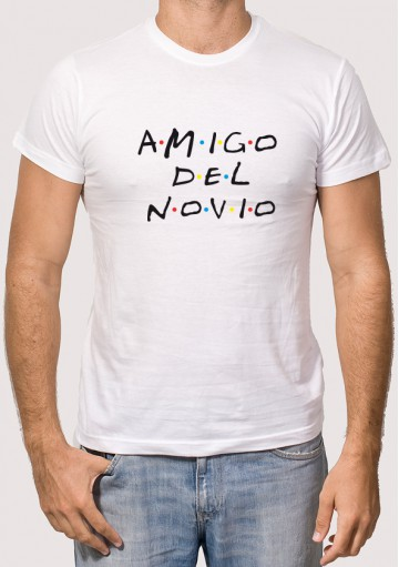 Camiseta Amigo Novio Friends