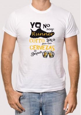 Camiseta Runner Cerveza