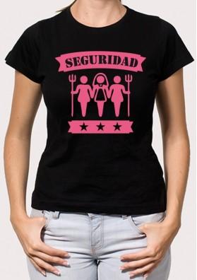 Camiseta despedida Seguridad