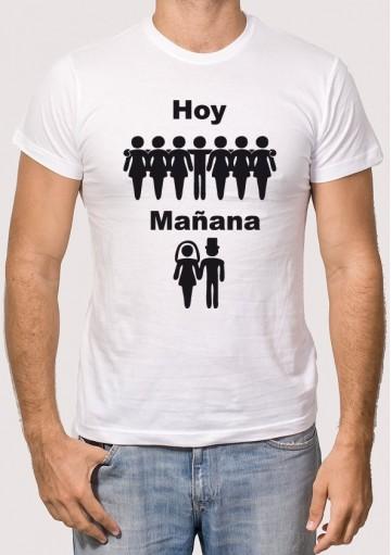 Camiseta Hoy y Mañana