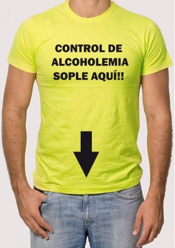 Camiseta Sople Aquí