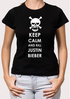 Camiseta Keep Justin