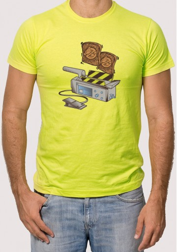 Camiseta tostadas cazafantasmas