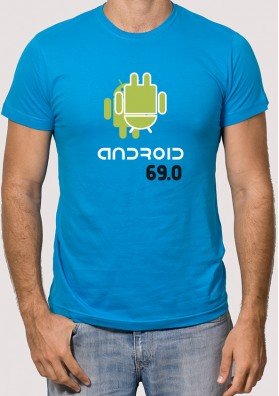 Camiseta Android 69