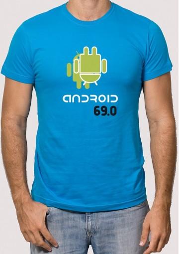 Camiseta Android 69