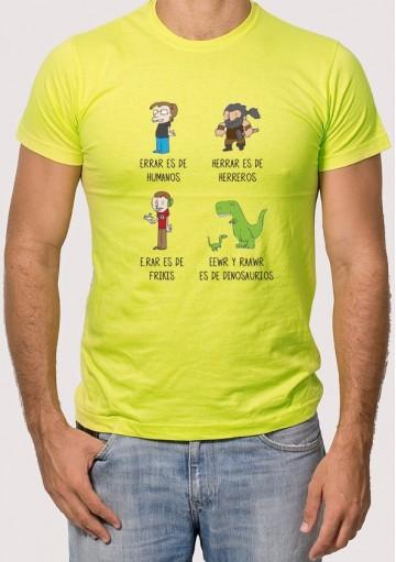 Camiseta Errar