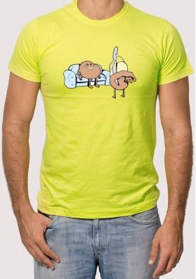 Camiseta patata caliente