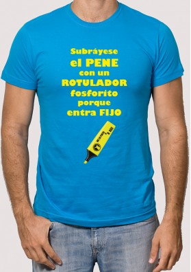 Camiseta Rotulador