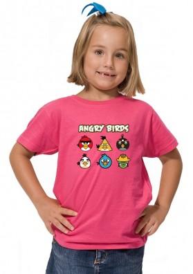 Camiseta Angry Birds Personajes