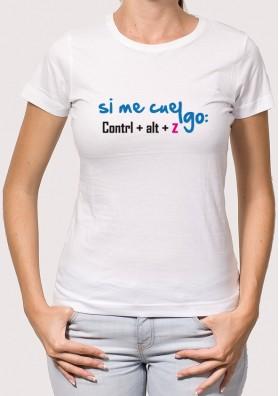 Camiseta Si Me Cuelgo