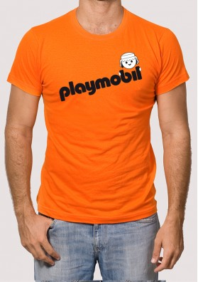 Camiseta Retro Playmobil