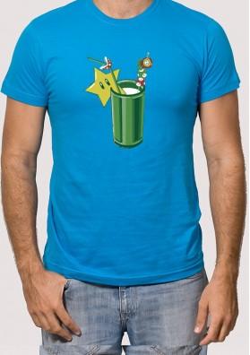 Camiseta Vaso de Tubo Mario
