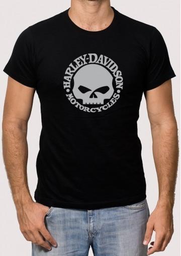 Camiseta Harley Calavera
