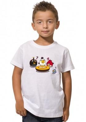 Camiseta Para Niños Angry Birds