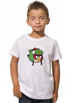 Camiseta Angry Birds Pig