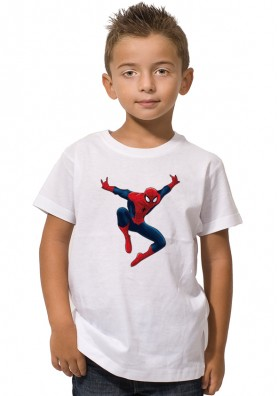 Camiseta Spiderman Niños