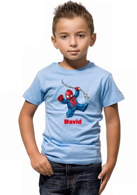 Camiseta Lego Spiderman