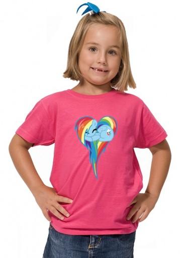 Camiseta My little pony Rainbow
