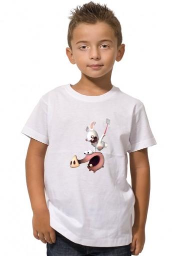 Camiseta Rabbid Cerdito