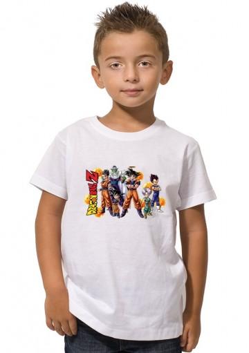 Camiseta Dragonball Z Niños